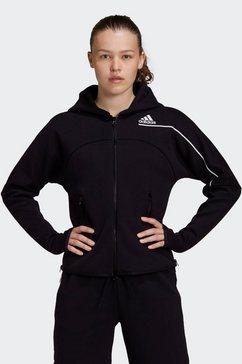 adidas performance capuchonsweatvest »adidas z.n.e.« zwart