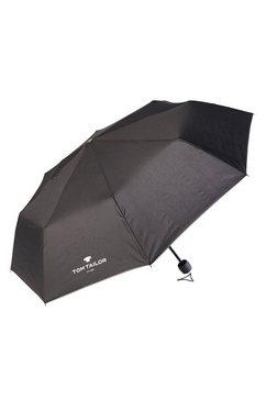 tom tailor zakparaplu »regenschirm« zwart