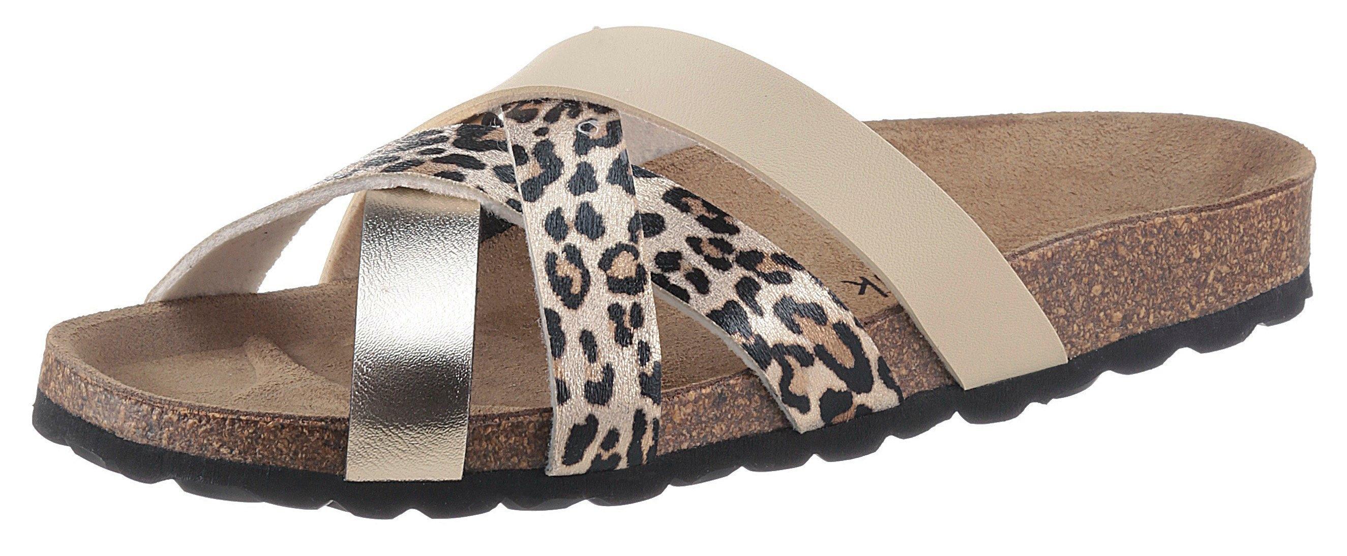 Op zoek naar een Bio Time slippers in luipaard-look? Koop online bij OTTO