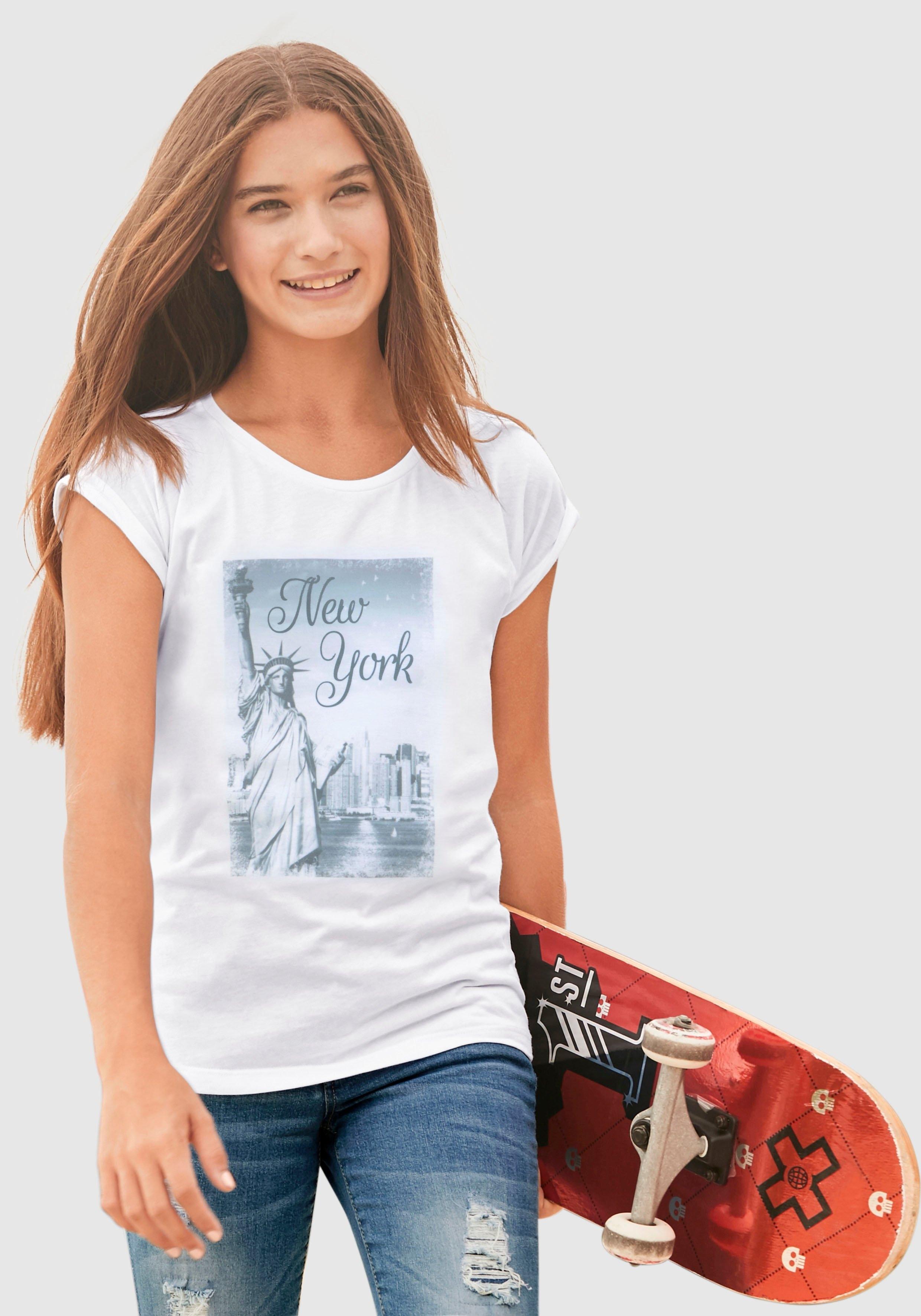 KIDSWORLD T-shirt iets wijder model - verschillende betaalmethodes