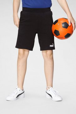 puma sweatshort ess sweat shorts b zwart