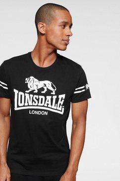 lonsdale t-shirt »aldeburgh« zwart