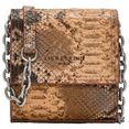 liebeskind berlin mini-bag »valentine's special snake crossbody xxs« bruin