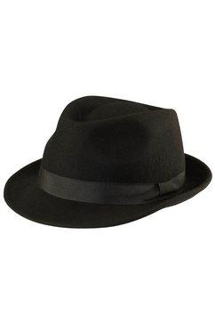 hoed van wol zwart