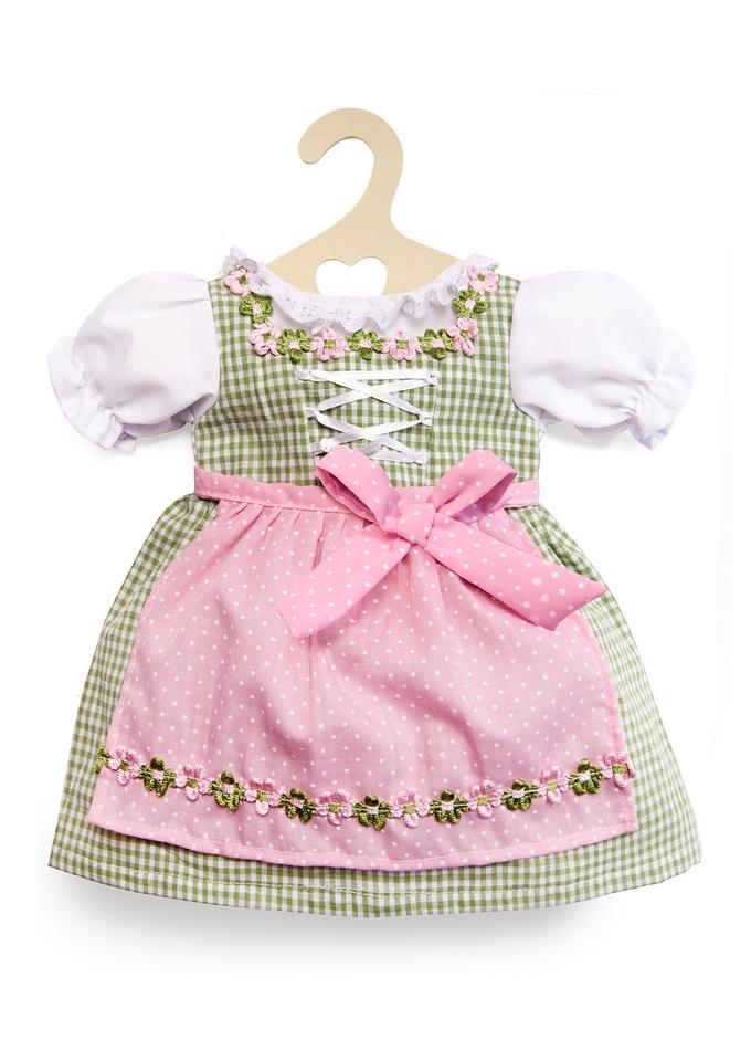 HELESS® Poppenkleertjes dirndljurk groen/roze koop je bij ...