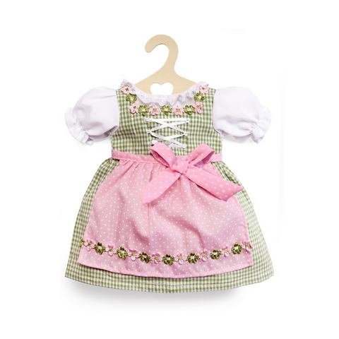 HELESS® Poppenkleertjes dirndljurk groen/roze