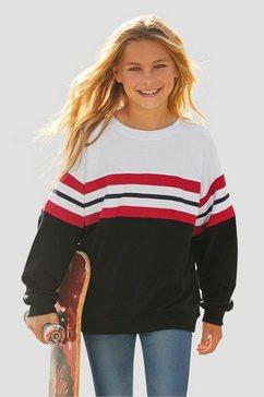 arizona sweatshirt in zeer wijd model zwart