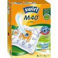 swirl stofzak swirl m40 stofzak voor miele en hoover (set, 5 stuks) wit