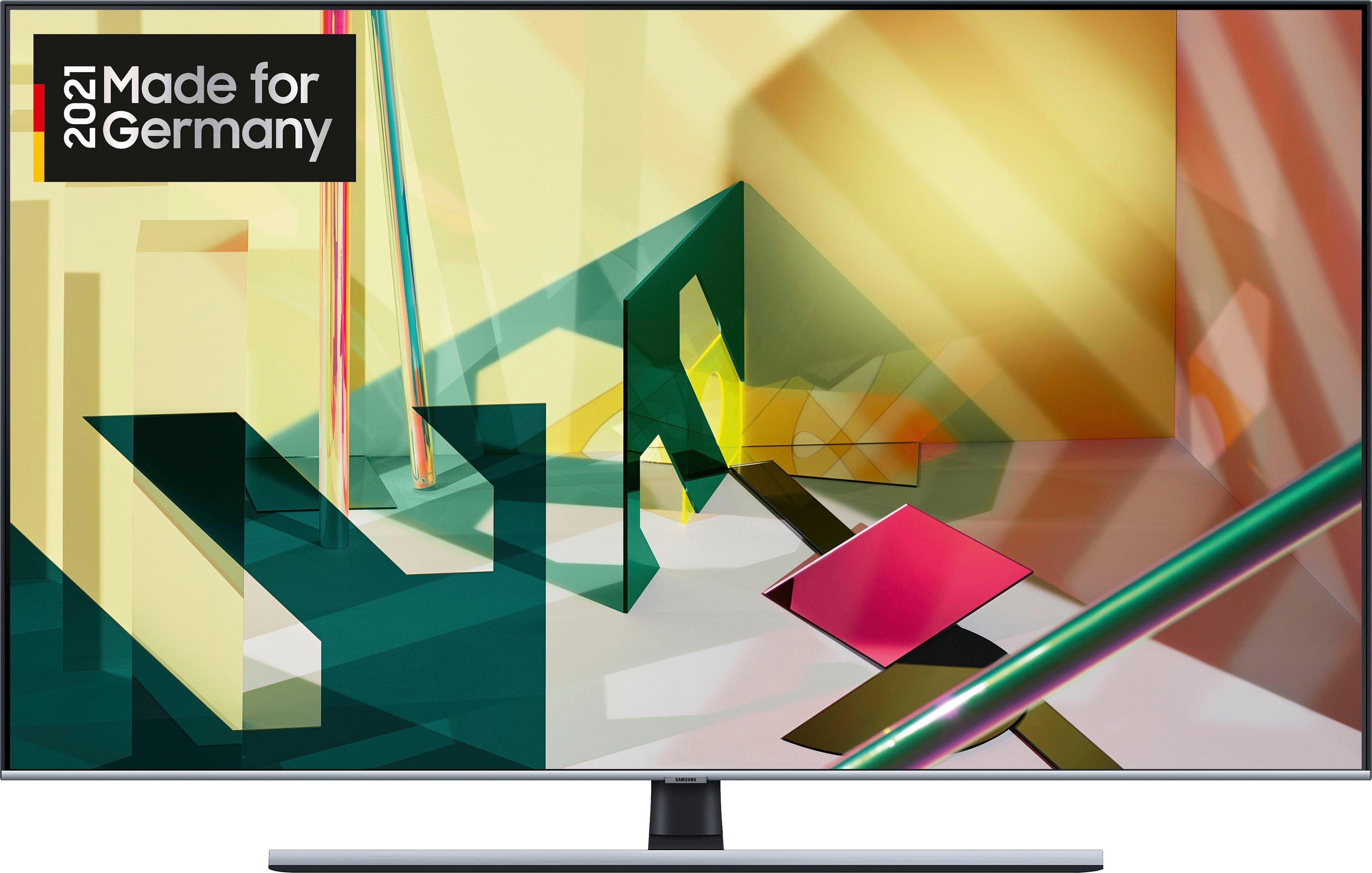 SAMSUNG GQ75Q75T QLED-televisie (189 cm / (75 Inch), 4K Ultra HD, Smart-TV nu online bestellen