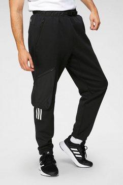 adidas performance cargobroek »m cargo pant« zwart