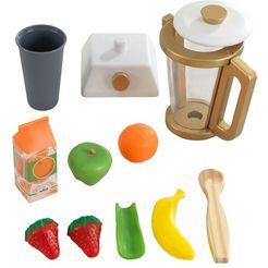 kidkraft kinderblender speelset smoothie (12-delig) multicolor