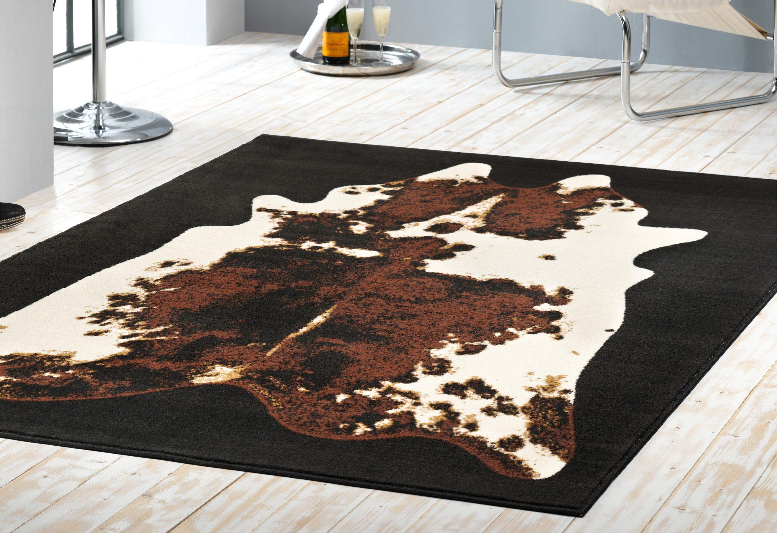 Hanse home vloerkleed koeienhuid vloerkleed moss nu online