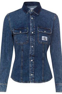 calvin klein jeansblouse blauw