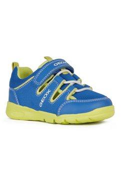 geox kids klittenbandschoenen met gepatenteerde speciale geox-membraan blauw