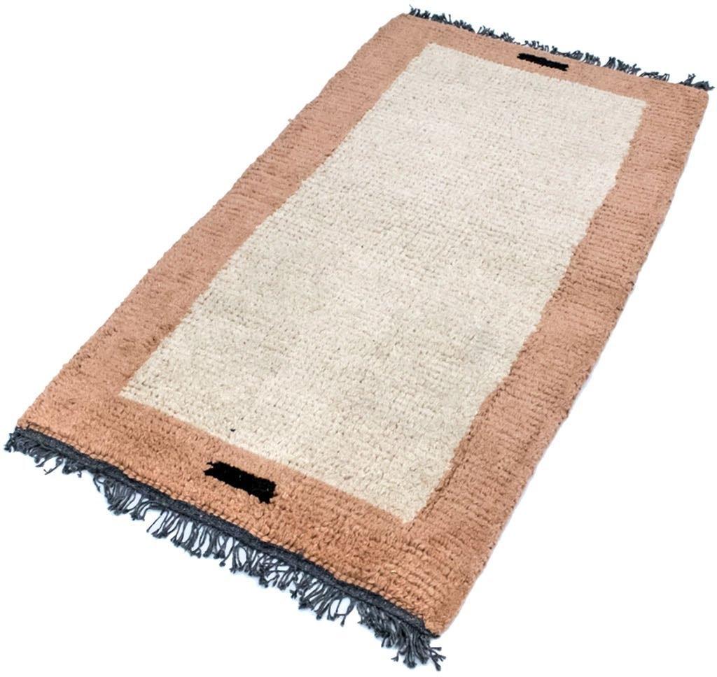 morgenland wollen kleed Nepal Teppich handgeknüpft beige handgeknoopt - gratis ruilen op otto.nl