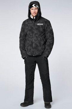 chiemsee ski-jack grijs