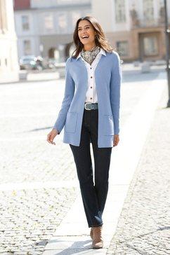 classic inspirationen cardigan blauw