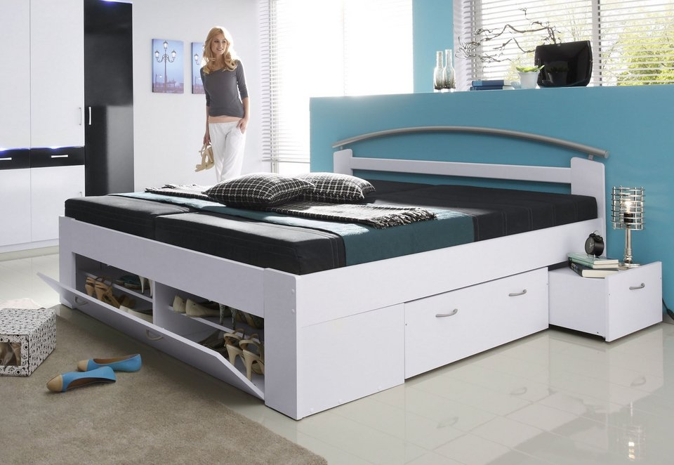 bed met open kast bestellen bij otto. Black Bedroom Furniture Sets. Home Design Ideas