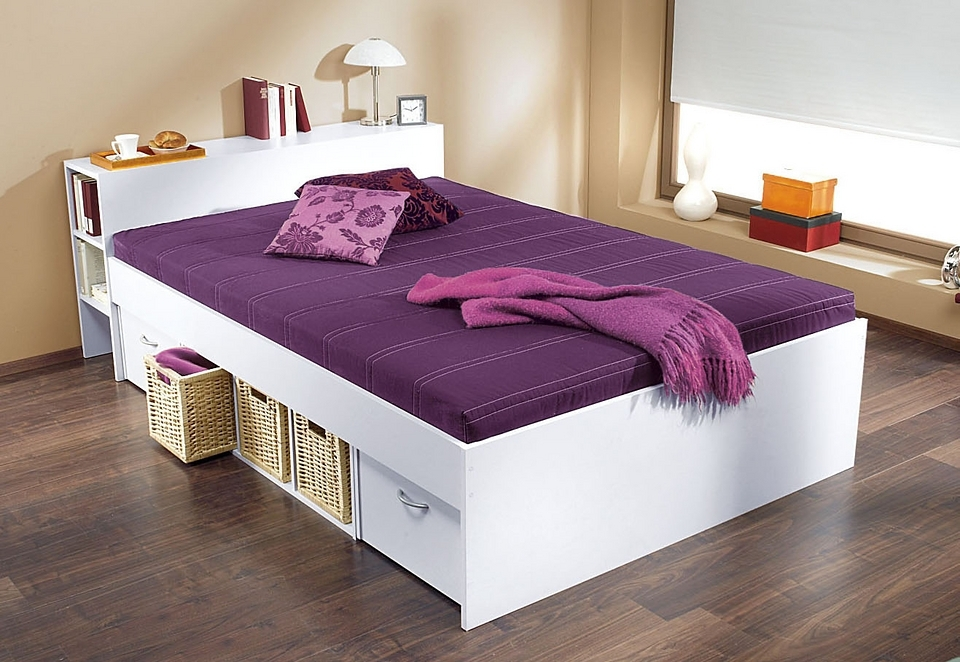 bed met opbergruimte in de online winkel otto. Black Bedroom Furniture Sets. Home Design Ideas