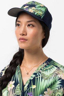 jack wolfskin baseballcap paradise cap women blauw