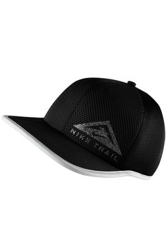 nike baseballcap trail running cap zwart