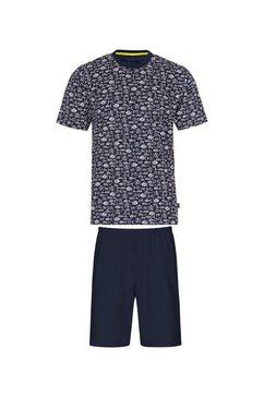 trigema pyjama blauw