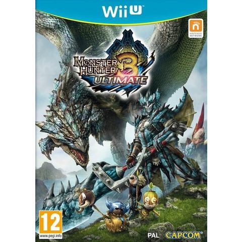 Game, Wii U, Monster Hunter 3, Ultimate