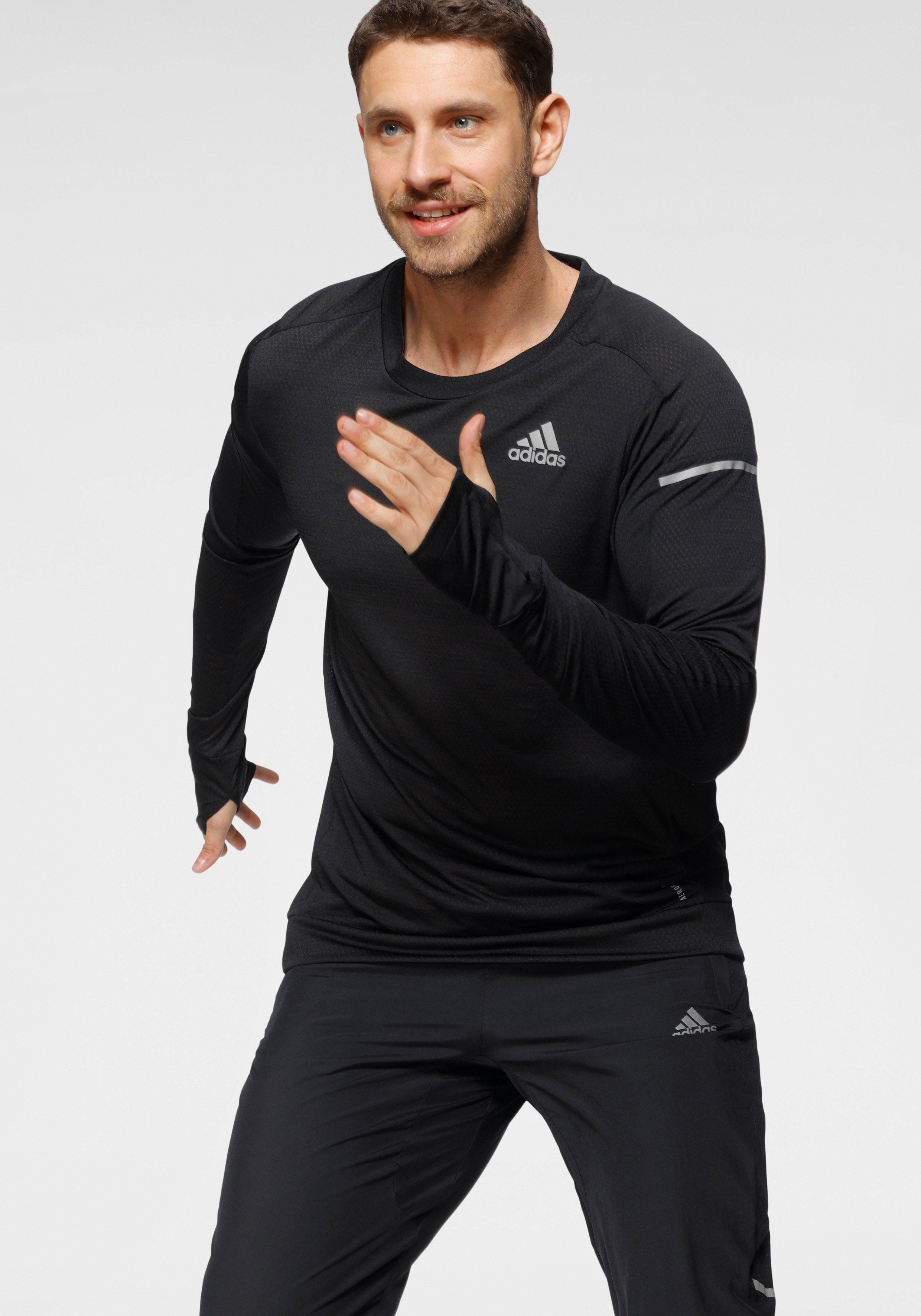 adidas Performance runningshirt COOLER LONGSLEEVE - verschillende betaalmethodes