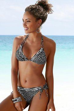 lascana bikinibroekje »safari« zwart