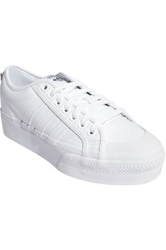 adidas originals plateausneakers »nizza platform w« wit