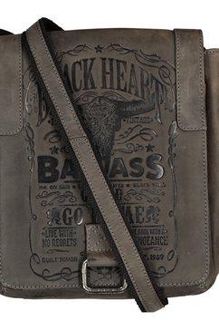 jack's inn 54 schoudertas zwart