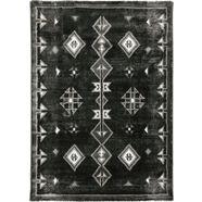 resital the voice of carpet vloerkleed side 265 korte pool, geweven, orint-look, woonkamer grijs
