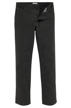 wrangler stretchbroek texas original straight zwart