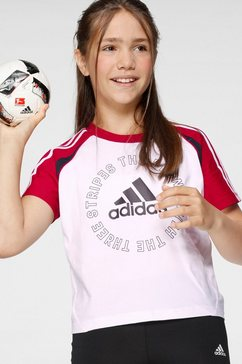 adidas performance t-shirt »girls bold tee« wit