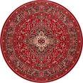 nouristan vloerkleed skazar isfahan korte pool, orint-look, woonkamer rood
