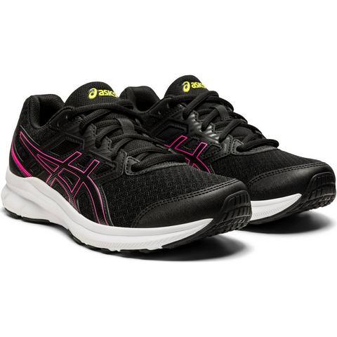 ASICS Jolt 3 hardloopschoenen zwart-roze dames Dames