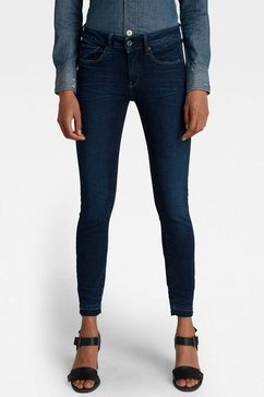 g-star raw ankle jeans 3301 mid skinny ankle jeans blauw