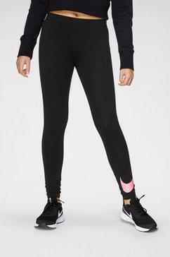 nike sportswear functionele tights zwart