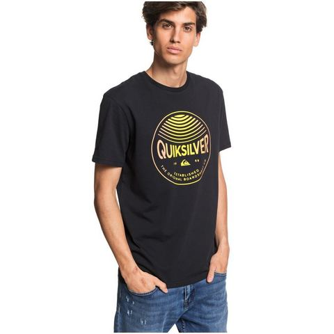 Quiksilver T-shirt Colors In Stereo