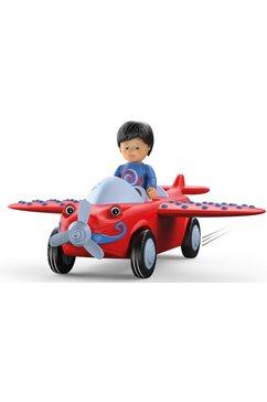 toddys by siku speelgoed vliegtuig leo loopy inclusief licht en geluid rood