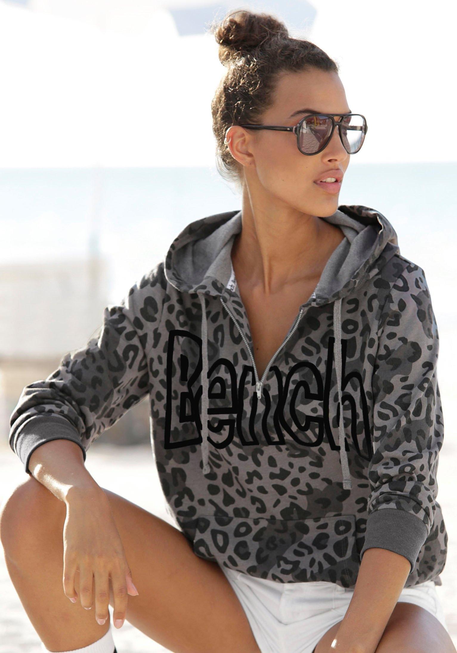 Bench. sweatshirt met dierenprint nu online bestellen
