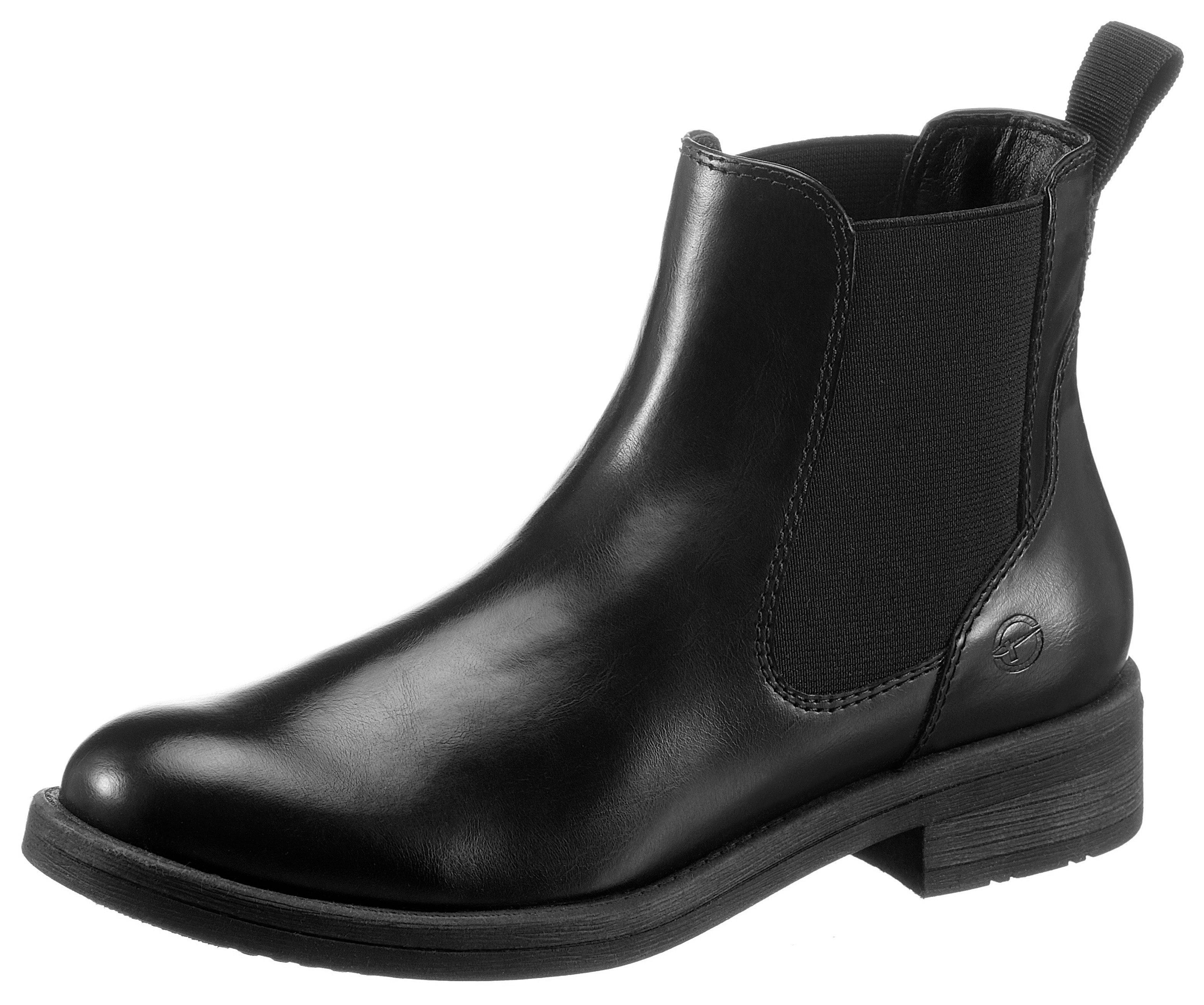 Tamaris Chelsea-boots SHAE met stretchinzet aan beide zijden nu online bestellen