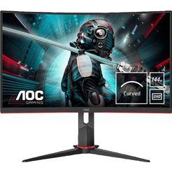 """aoc curved-gaming-ledscherm cq27g2u-bk, 68,6 cm - 27 """", qhd zwart"""