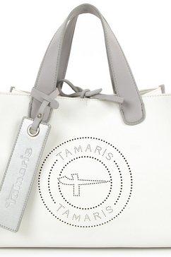 tamaris tas shopper celine met uitneembare binnentas wit