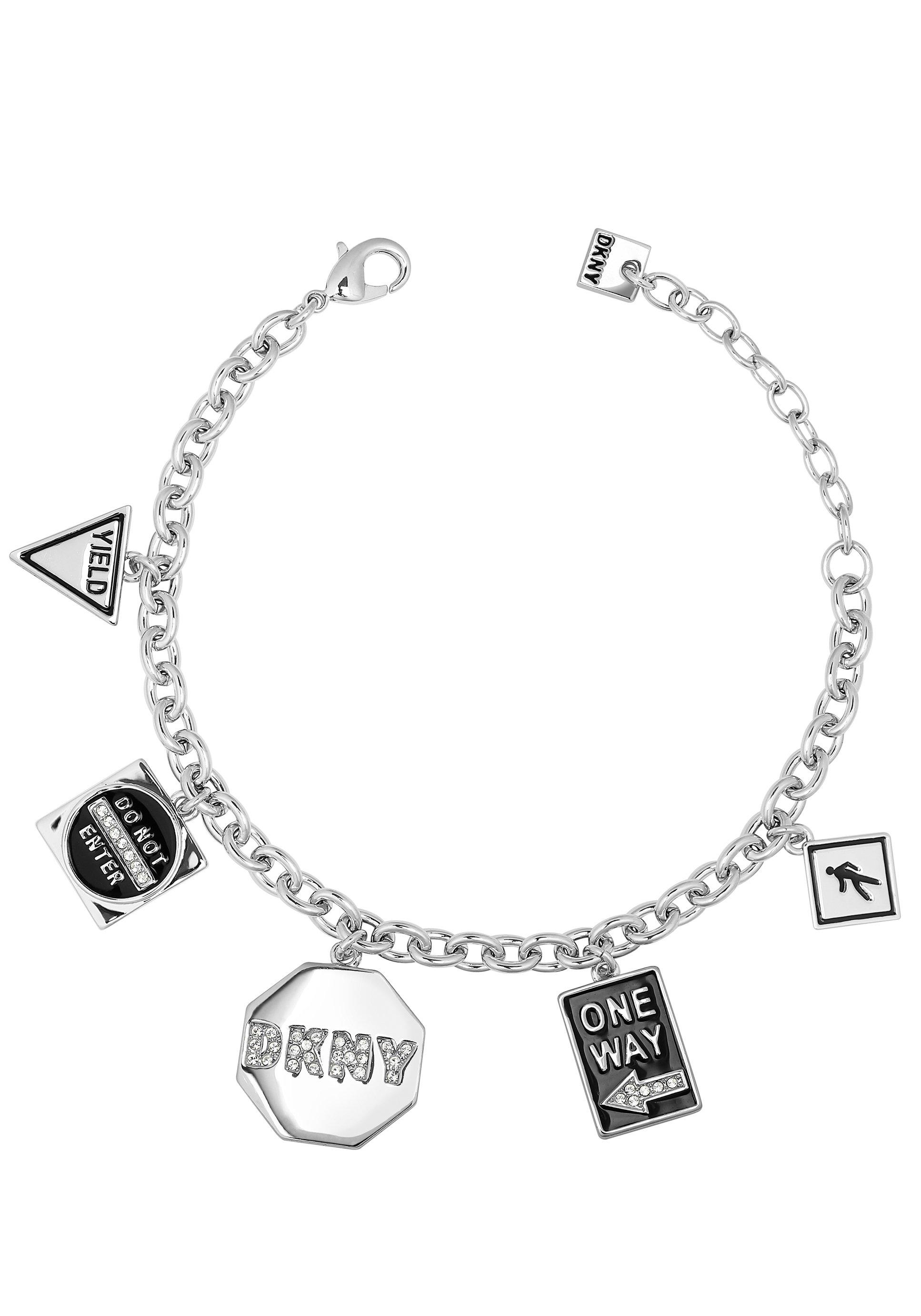 DKNY armband NYC Street Sign Charm BR (RH), 5547984 met swarovski®-kristallen en email nu online bestellen