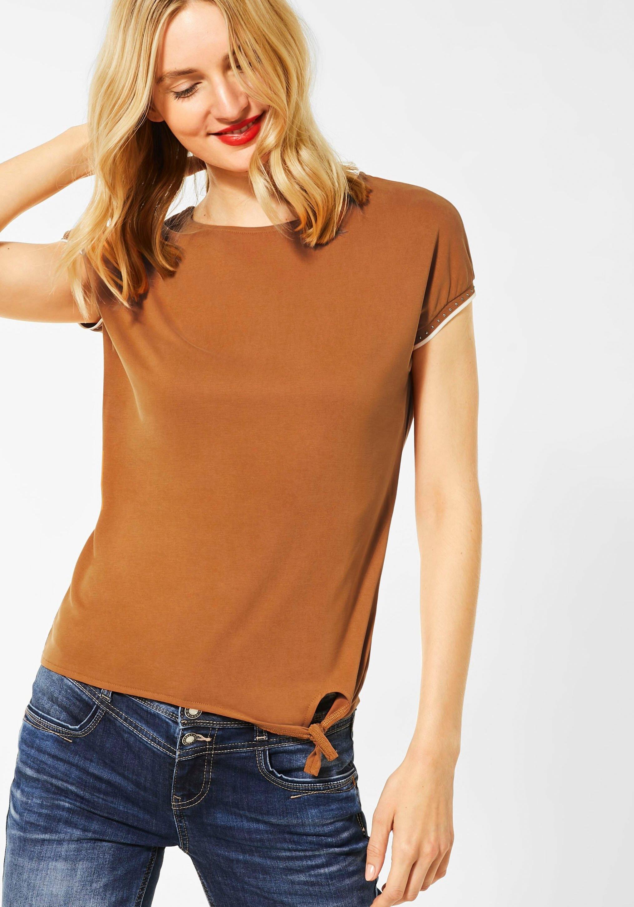 STREET ONE shirt met ronde hals voordelig en veilig online kopen