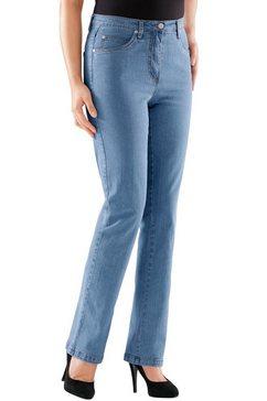 casual looks jeans in prettige stretchkwaliteit blauw