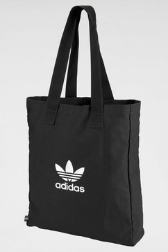 adidas originals sporttas »adicolor shopper« zwart