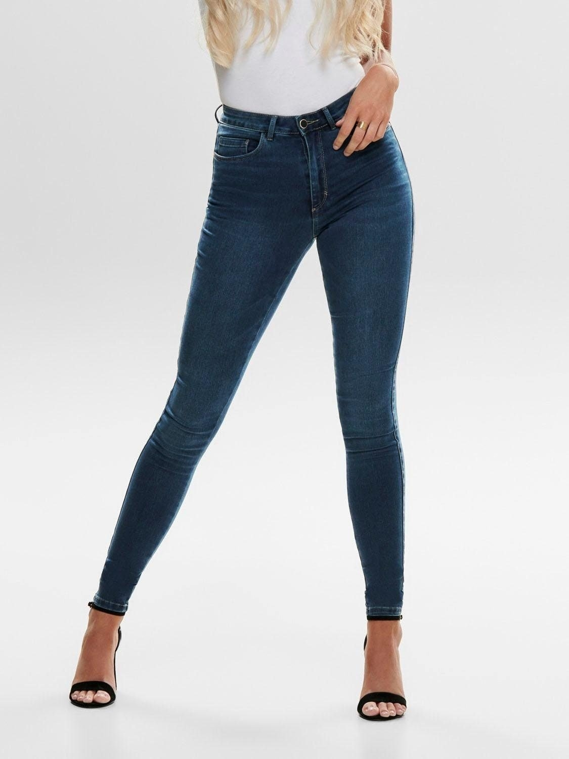 Only high waisted jeans »ROYAL« - gratis ruilen op otto.nl