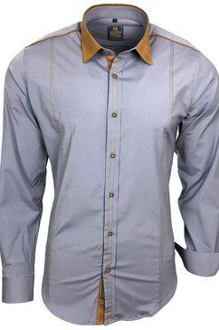 rusty neal hemd »a1-rn-76« grijs